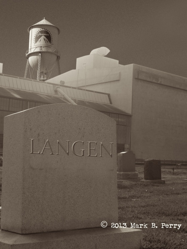 Milford Langen's Final Resting Place