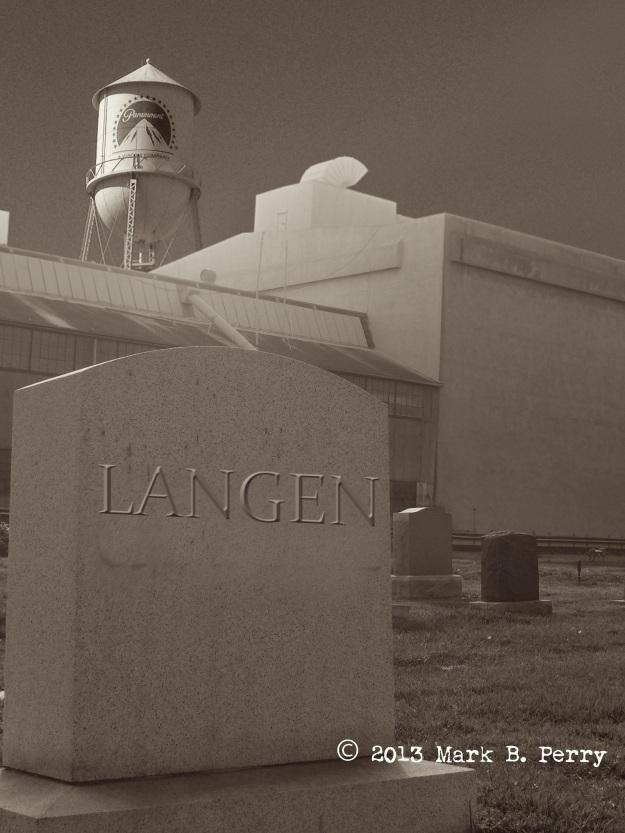 Milford Langen's Final Resting Place