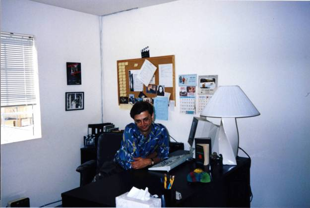 My first office on The Wonder Years circa 1989.